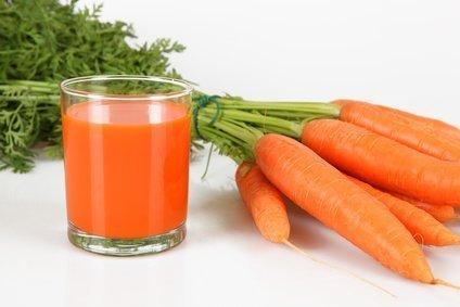Καρότο και χυμό