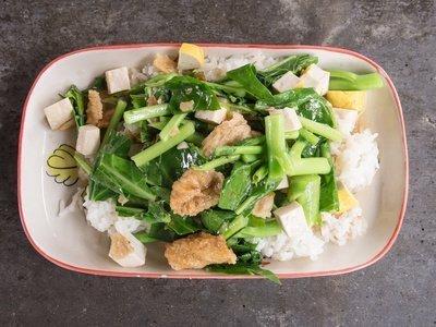 tofu & kale
