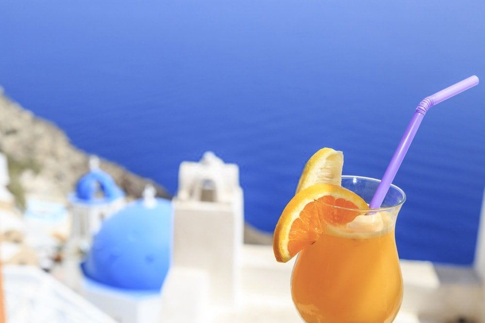 Χυμός πορτοκαλιού στις διακοπές